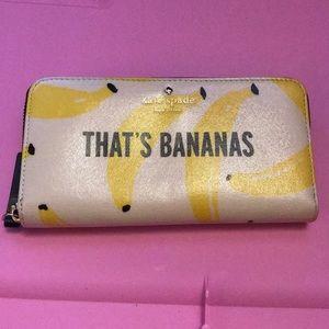Handbags - *sold* Kate Spade That's Bananas Wallet